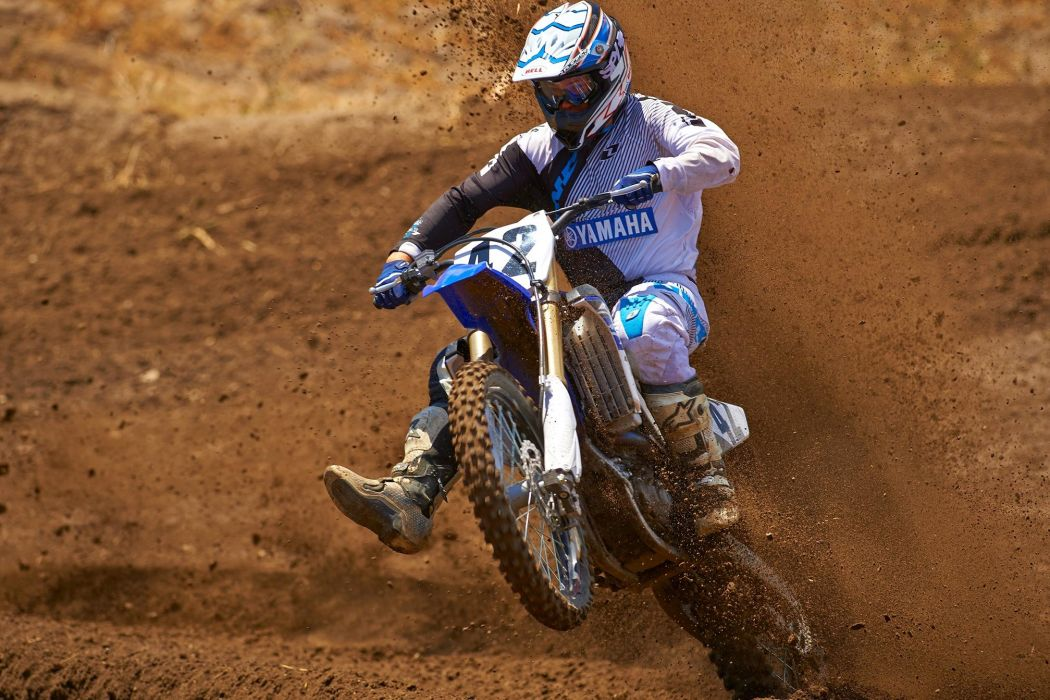 2015 Yamaha YZ450F Motocross Dirtbike Moto Wallpaper