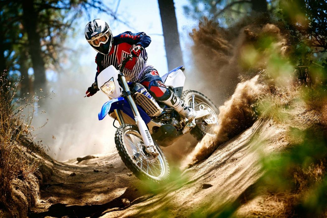 2015 Yamaha WR250F motocross dirtbike moto wallpaper