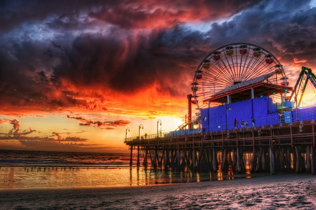 Griffith observatory oscars venice-beach Newport-Beach venice santa-monica Pier rodeo-drive nature universal-studio hollywood marina boats sea downtown Los-Angeles bridges art freeway sunset Discover sunrise night lights Verdugo Mountains Lighthouses Mont wallpaper