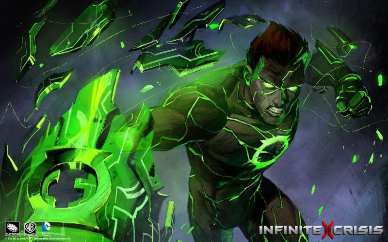 Heroes comics infinite crisis Green Lantern Fantasy Games wallpaper