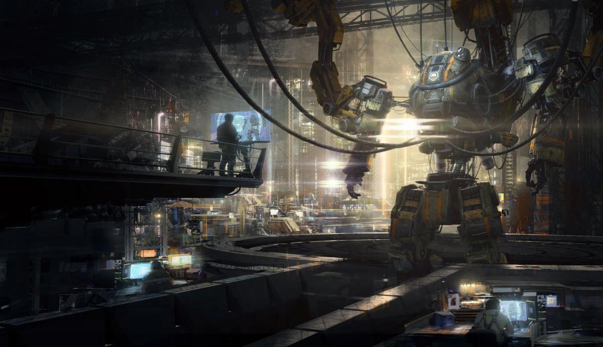 Technics Robot Fantasy mecha sci-fi wallpaper