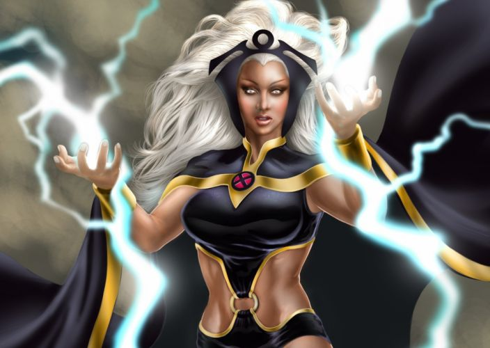 Marvel Heroes comics Storm Ororo Monroe Fantasy Games xmen x-men wallpaper