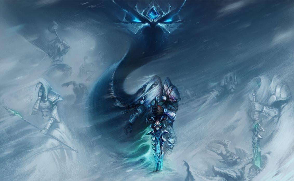 World Of Warcraft Wow Warrior Arthas Menethil Sword