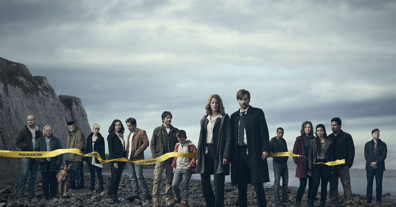 GRACEPOINT crime series mystery drama wallpaper