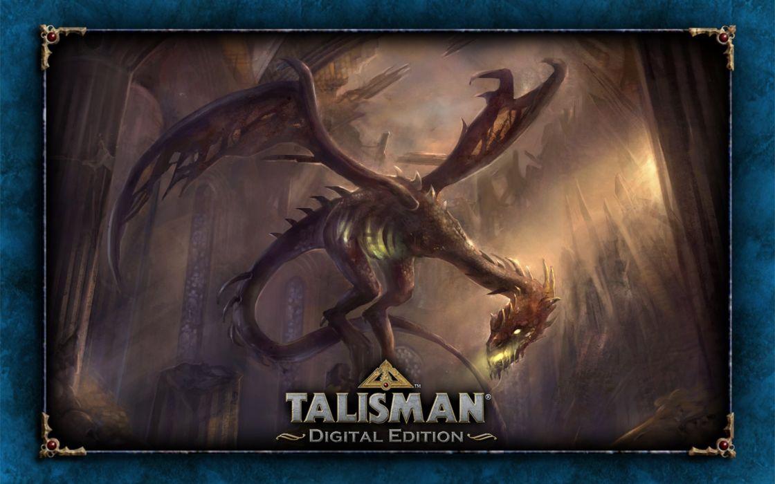 TALISMAN DIGITAL EDITION fantasy board fighting rpg online dragon wallpaper