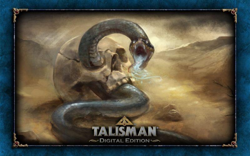 TALISMAN DIGITAL EDITION fantasy board fighting rpg online snake wallpaper