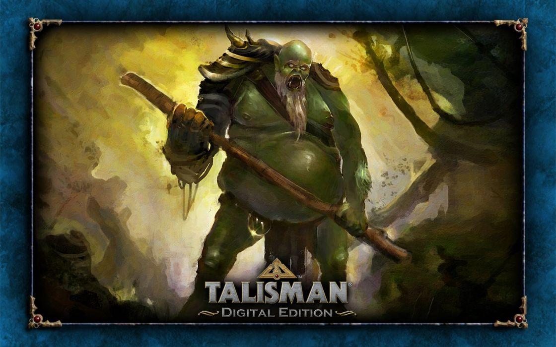 TALISMAN DIGITAL EDITION fantasy board fighting rpg online warrior monster wallpaper