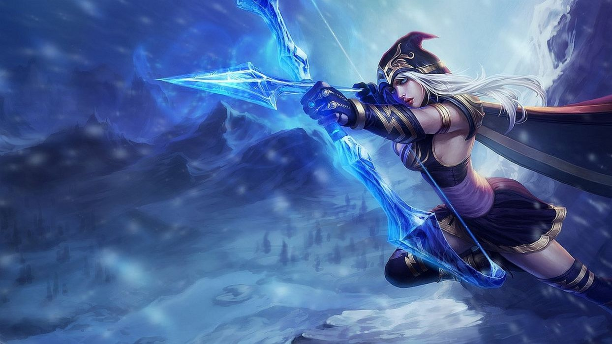 LEAGUE OF LEGENDS - archer warrior girl wallpaper
