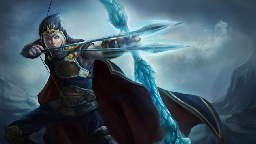LEAGUE OF LEGENDS - Udyr warrior archer wallpaper