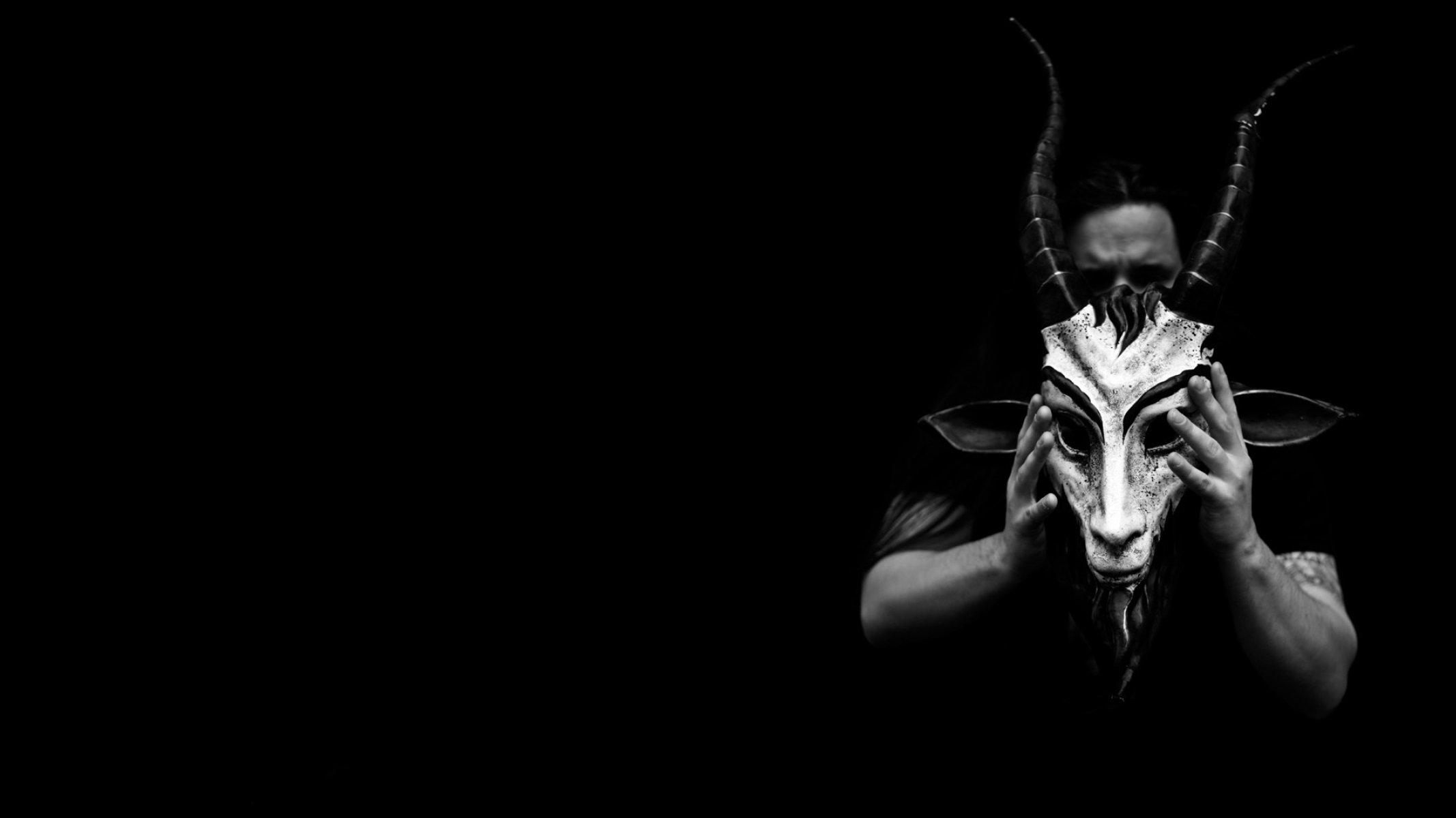 Satanic Occult Evil Dark Demon Satan Wallpaper 2134x1200