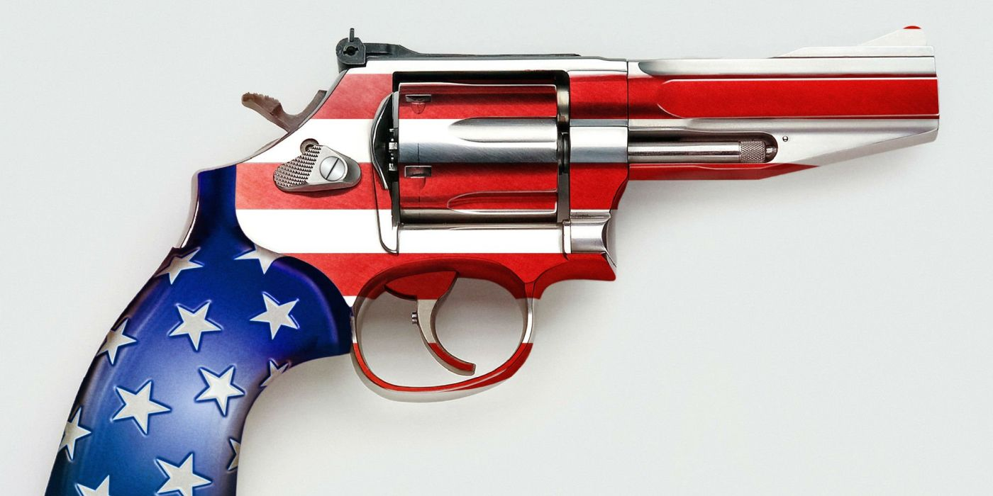 american flag and guns wallpaper
