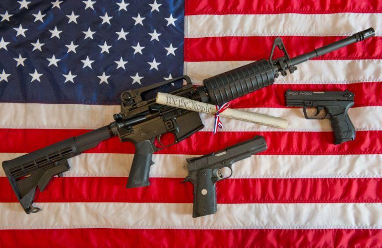 GUN CONTROL weapon politics anarchy protest political weapons guns military wallpaper