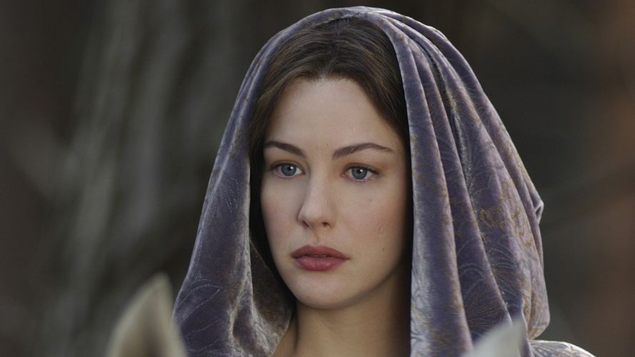 The Lord of the Rings movies beautiful The last refuge Liv Tyler Arwen Undomiel Princess of Elves Evening Star wallpaper