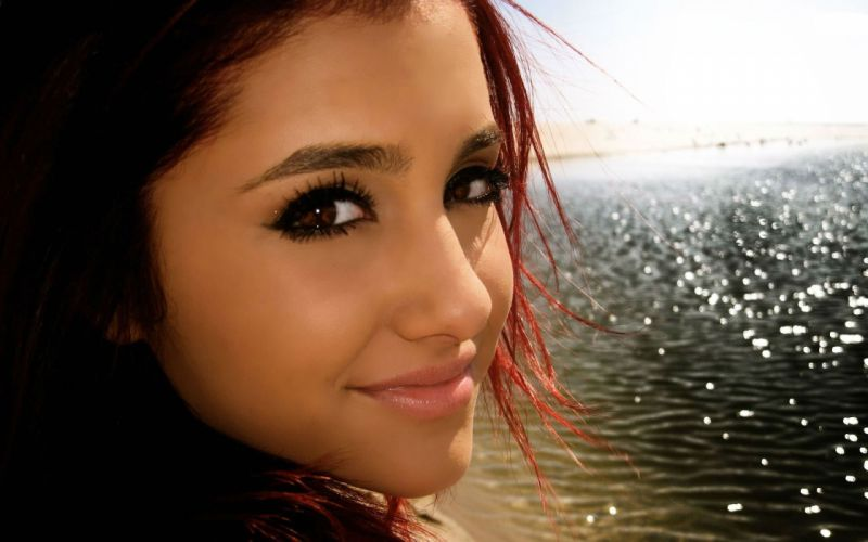ARIANA GRANDE singer pop r-b babe actress wallpaper