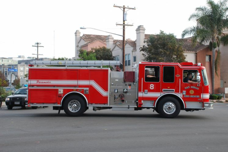 camion cars san-diego california departments emergency fire medic pompier rescue suv truck USAl ifeguard wallpaper