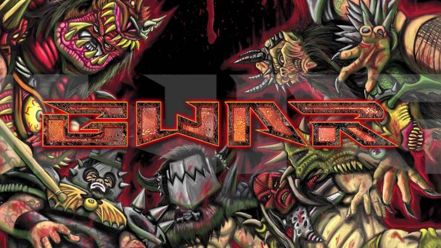 GWAR thrash metal heavy shock visual kei wallpaper