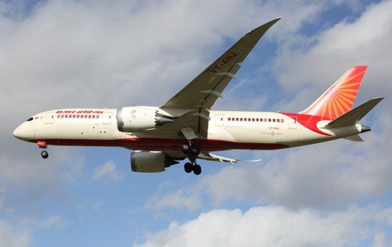 boeing-787 Dreamliner airliner airplane plane transport aircrafts wallpaper