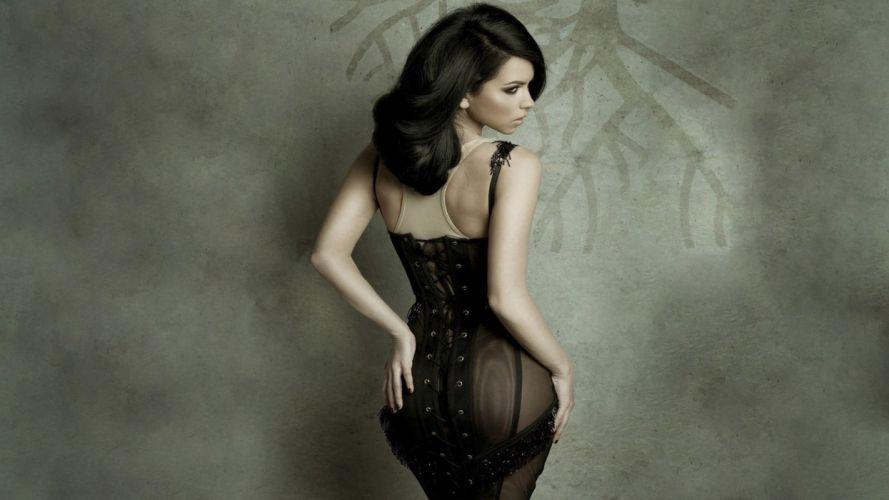 curve elena alexandra elena beauty wallpaper