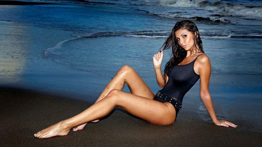 swim model suit laura wallpaper