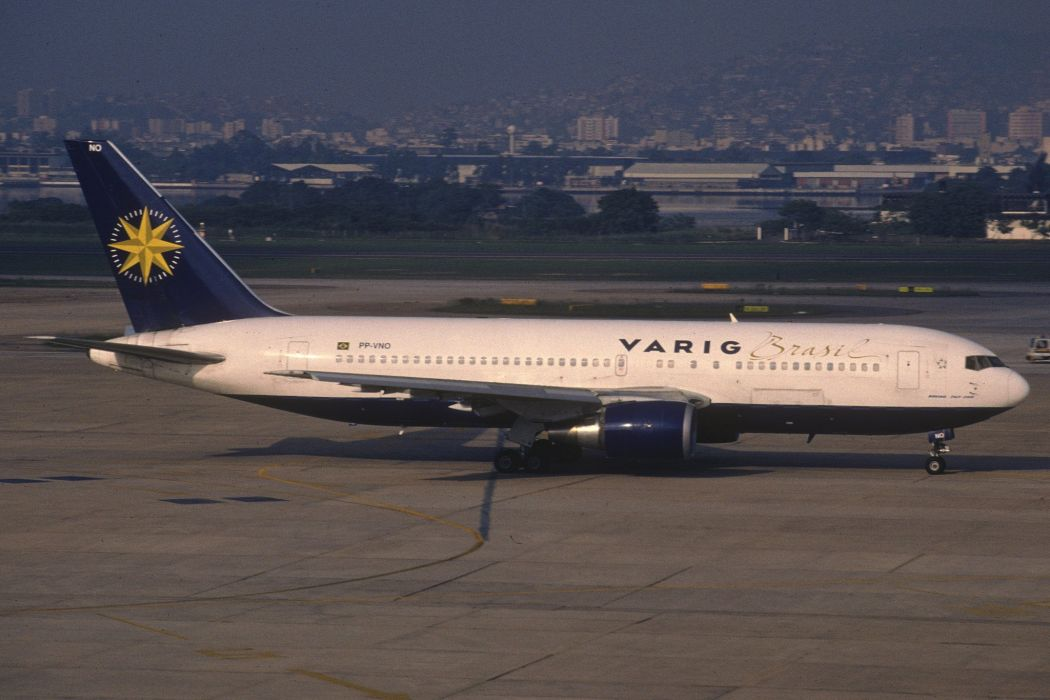 767 aircrafts airliner airplane Boeing plane transport wallpaper