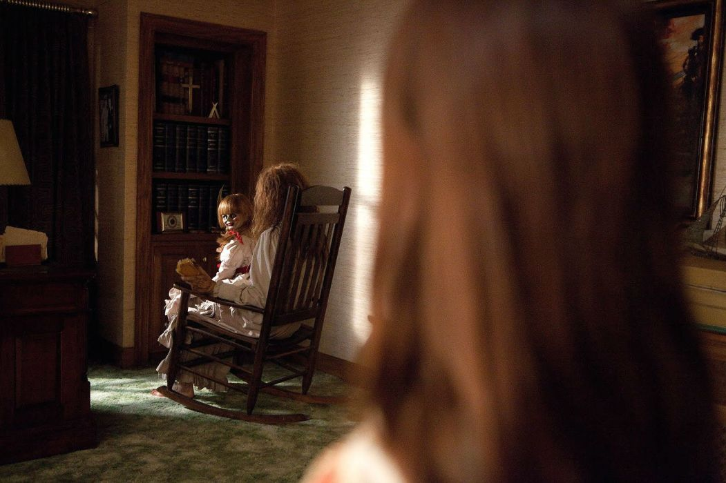 ANNABELLE horror dark supernatural wallpaper
