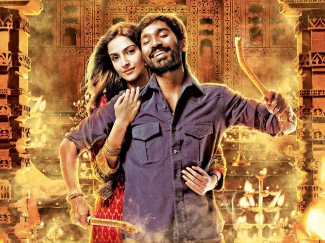 RAANJHANAA romance drama bollywood sonam kapoor wallpaper
