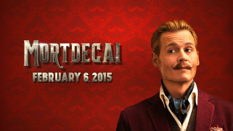 MORTDECAI depp action comedy adventure wallpaper