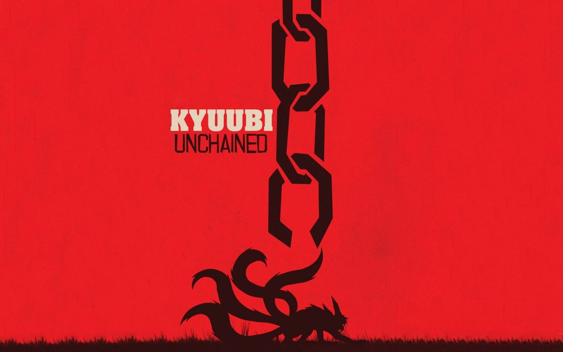 naruto kyuubi django unchained wallpaper