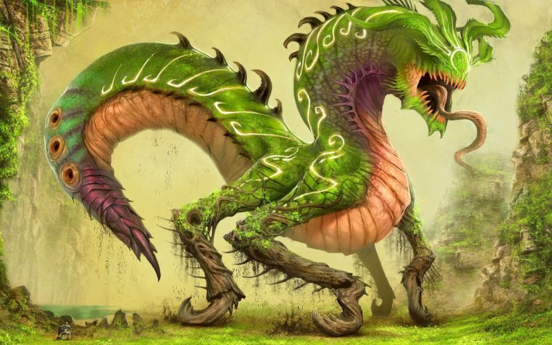 mythical creatures wallpaper