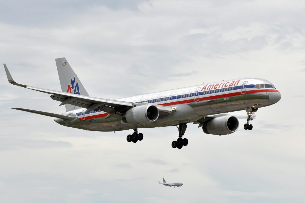 757 aircrafts airliner airplane Boeing plane transport wallpaper