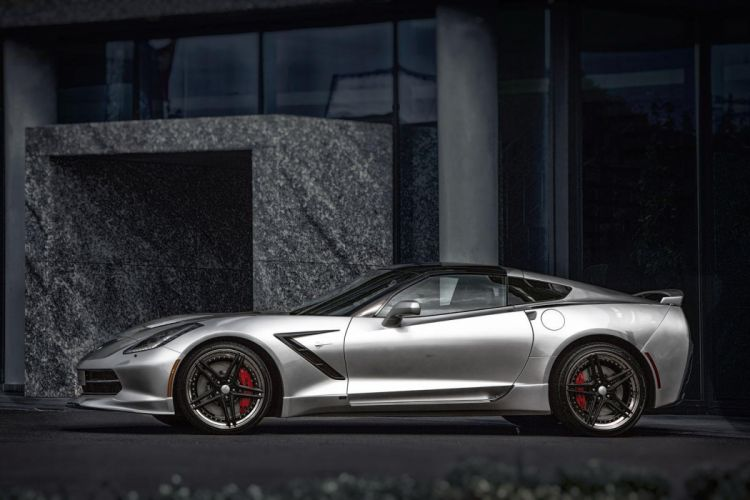 Chevy Corvette-C7 Stingray Supercharged tuning coupe cars wallpaper