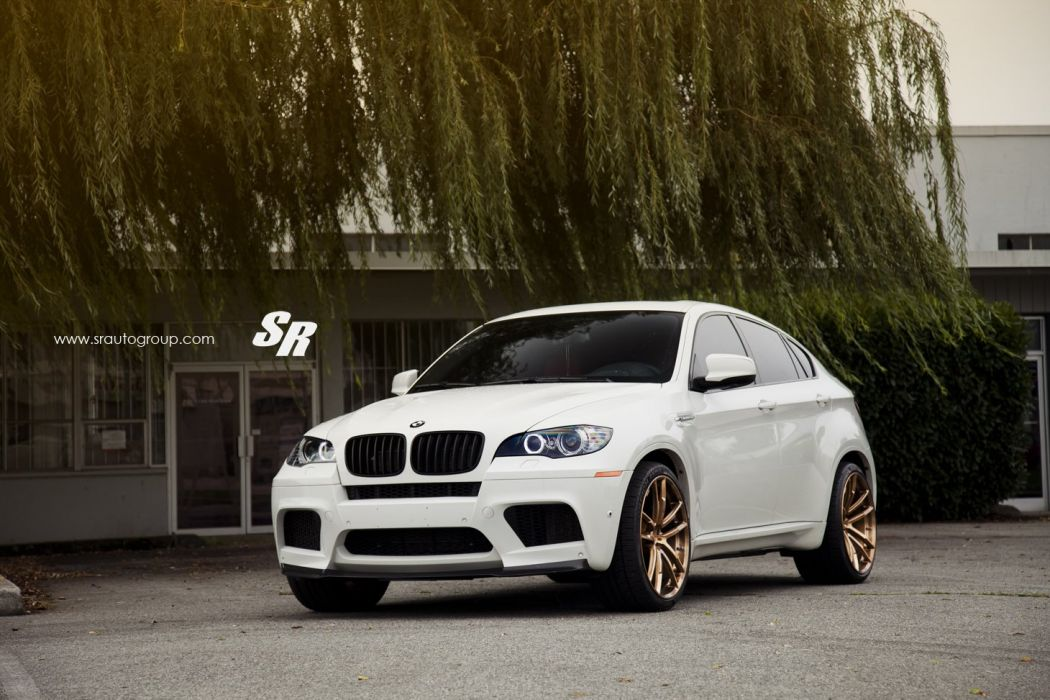 BMW X6M PUR wheels tuning suv cars white wallpaper