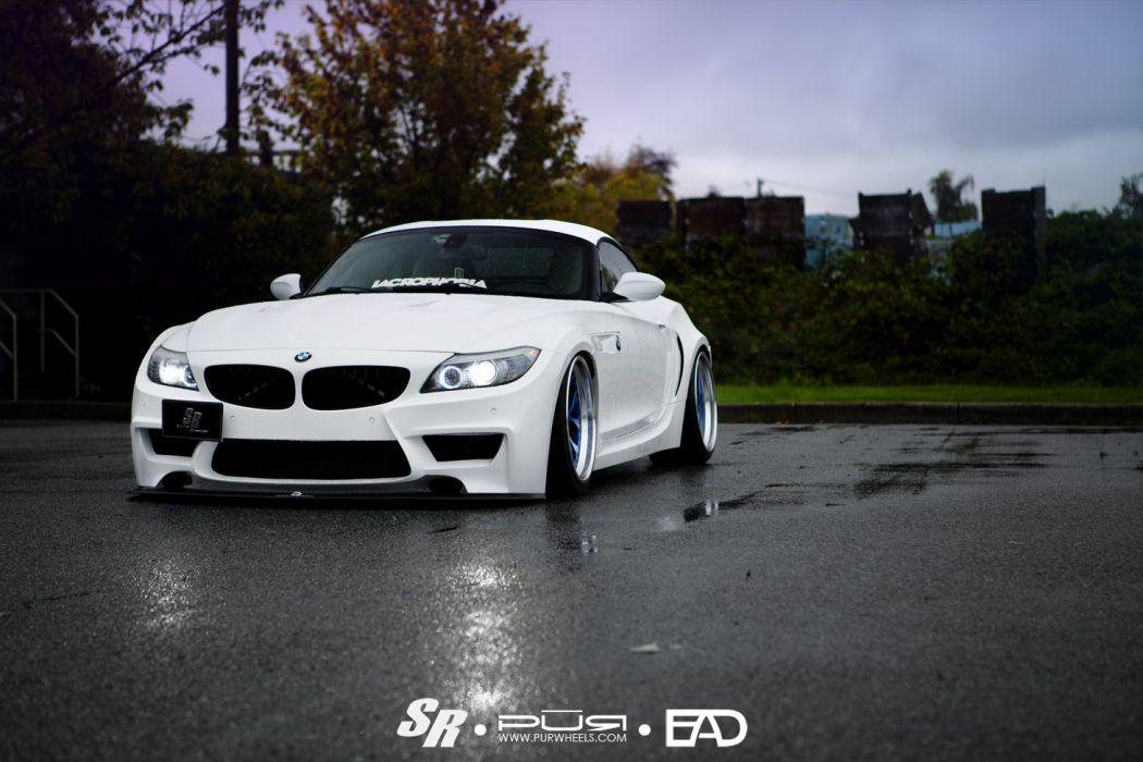 BMW-z4 PUR wheels tuning cars wallpaper