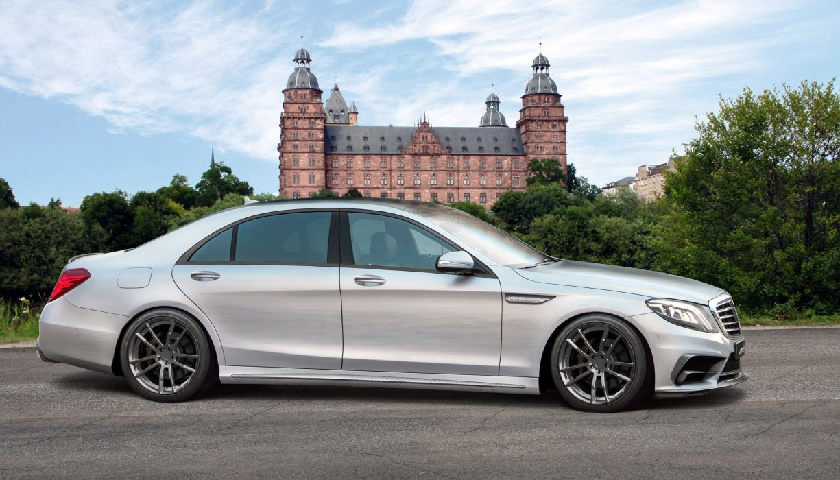 Mercedes S65 AMG tuning cars wallpaper