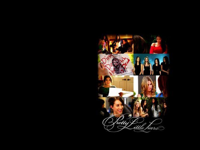 PRETTY LITTLE LIARS drama mystery thriller series babe wallpaper