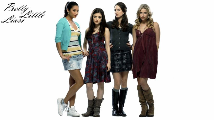 PRETTY LITTLE LIARS drama mystery thriller series babe wallpaper