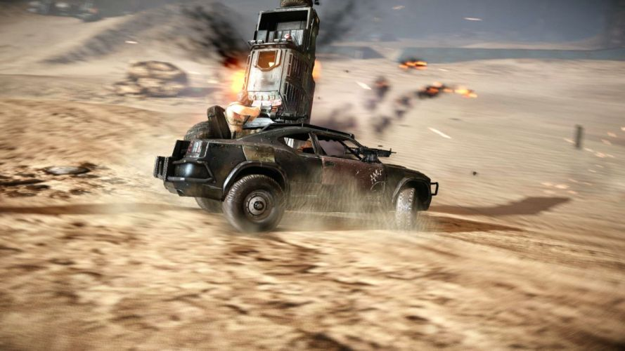 RAVAGED shooter fighting action sci-fi apocalyptic wallpaper