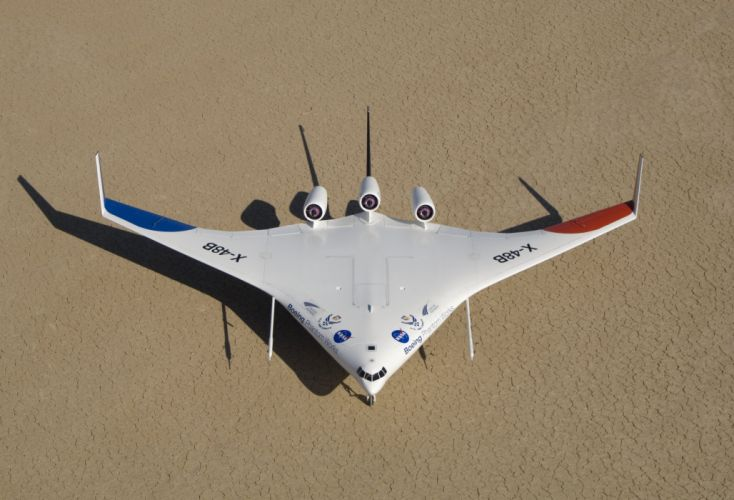 Boeing X-48 aircrafts plane experimental nasa wallpaper