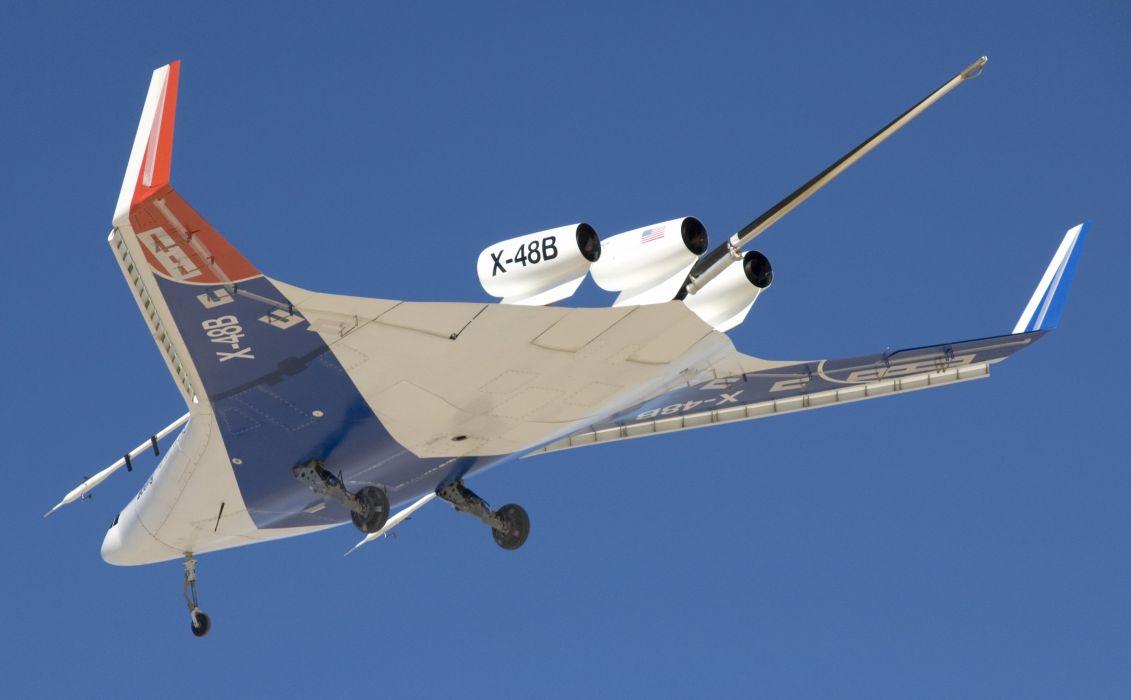 Boeing X-48 aircrafts plane experimental nasa  wallpaper
