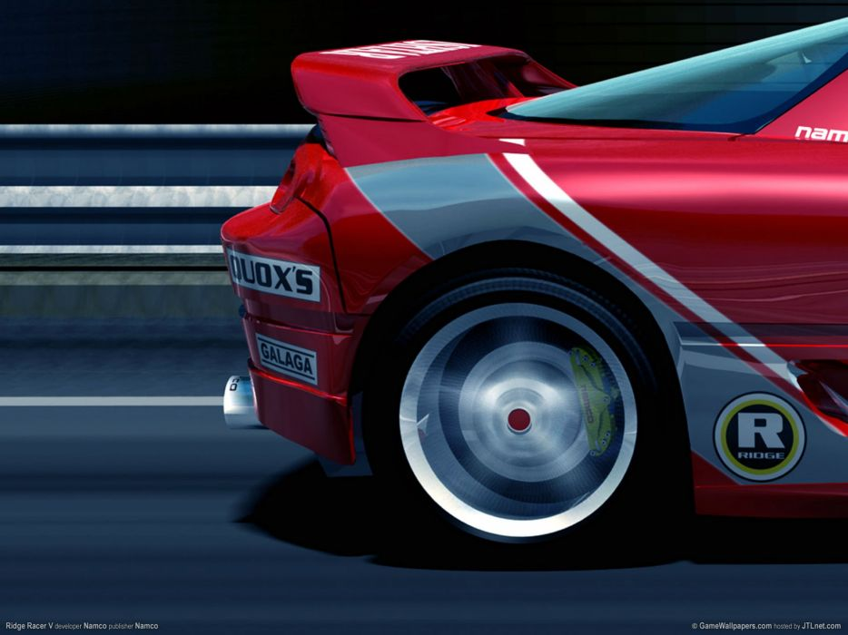 RIDGE RACER race racing arcade wallpaper