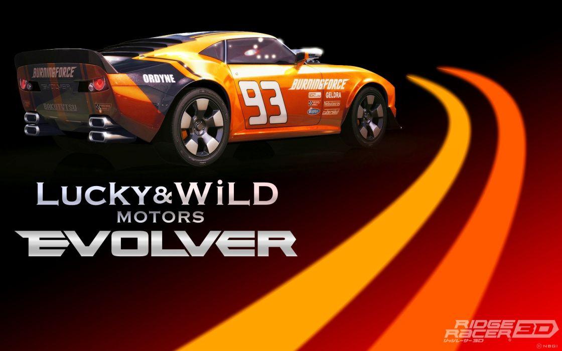 RIDGE RACER race racing arcade wallpaper