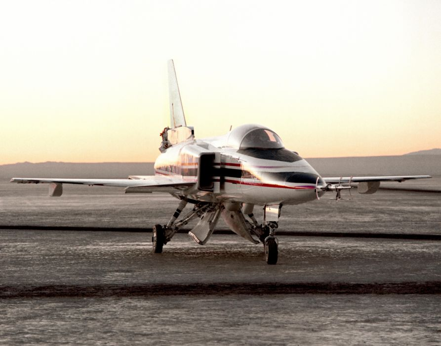 aircrafts Grumman X-29 experimental jets plane wallpaper