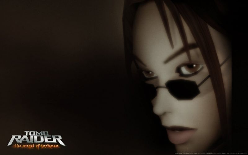 Tomb Raider Lara Croft video game the angel of the darkness action shooter 3d wallpaper