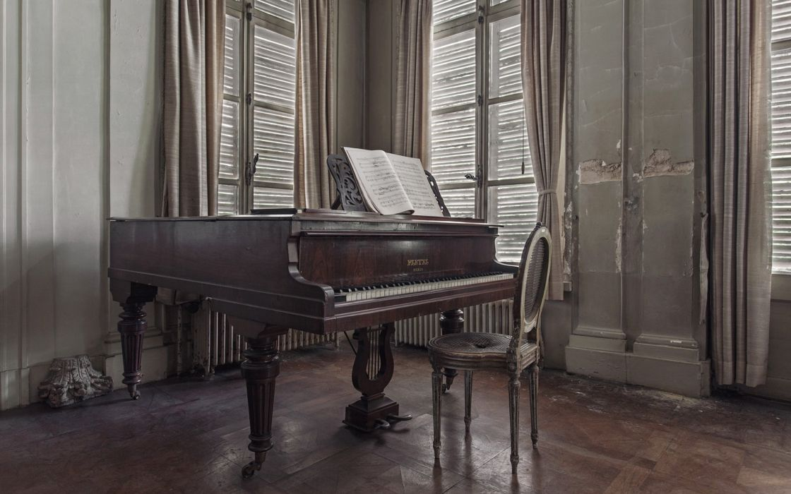 Music piano room notes life soul