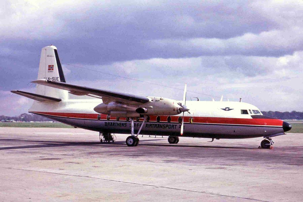 aircrafts airliner airplane fokker-27 plane transport wallpaper