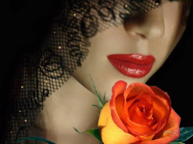 Roses- Beauty - model -beautiful - girl wallpaper