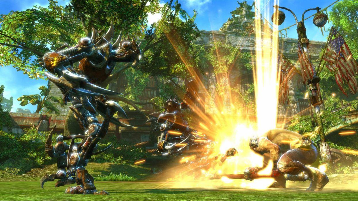 ENSLAVED action adventure platform fighting fantasy sci-f wallpaper
