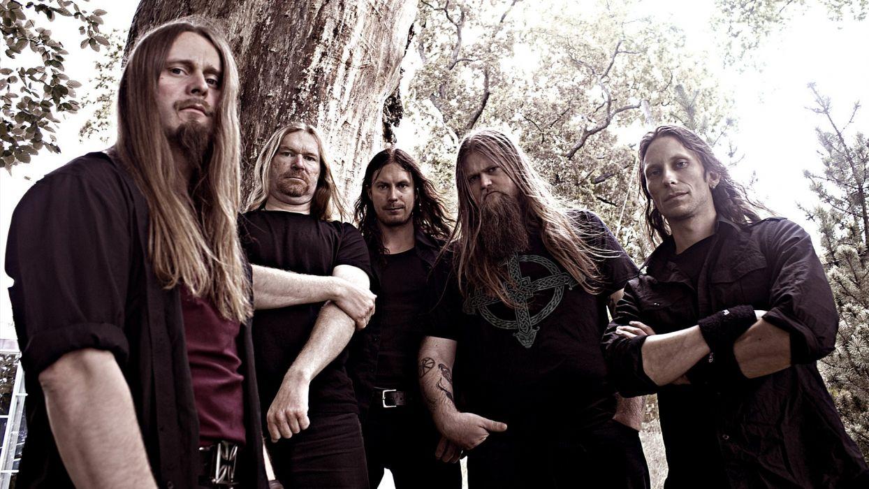 ENSLAVED progressive black metal heavy viking wallpaper