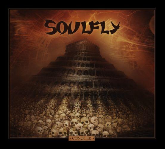 SOULFLY groove metal thrash heavy death dark skull evil wallpaper