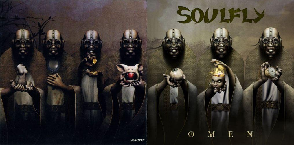 SOULFLY groove metal thrash heavy death dark gas mask apocalyptic wallpaper